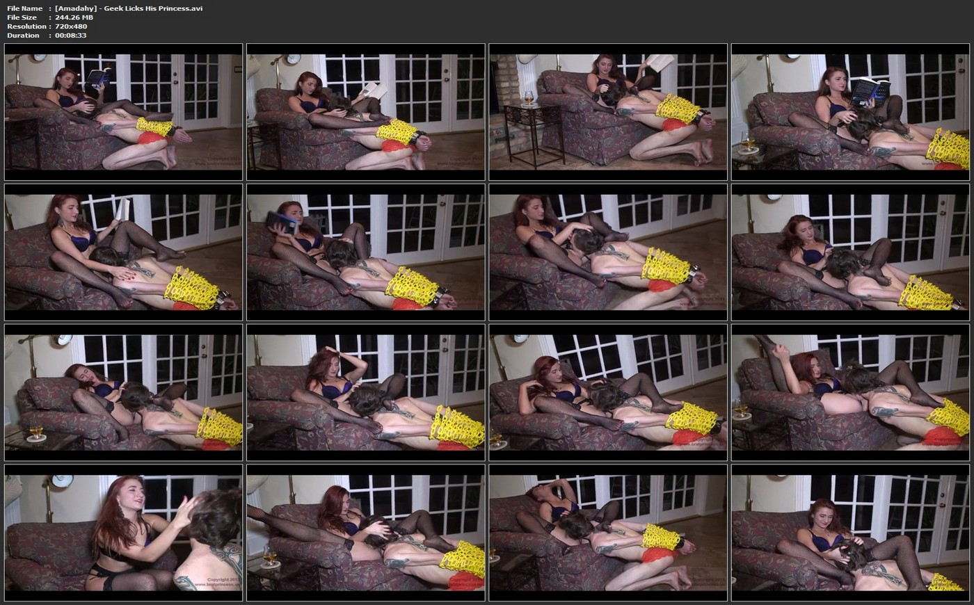 Download: Amadahy - Geek Licks His Princess.mp4