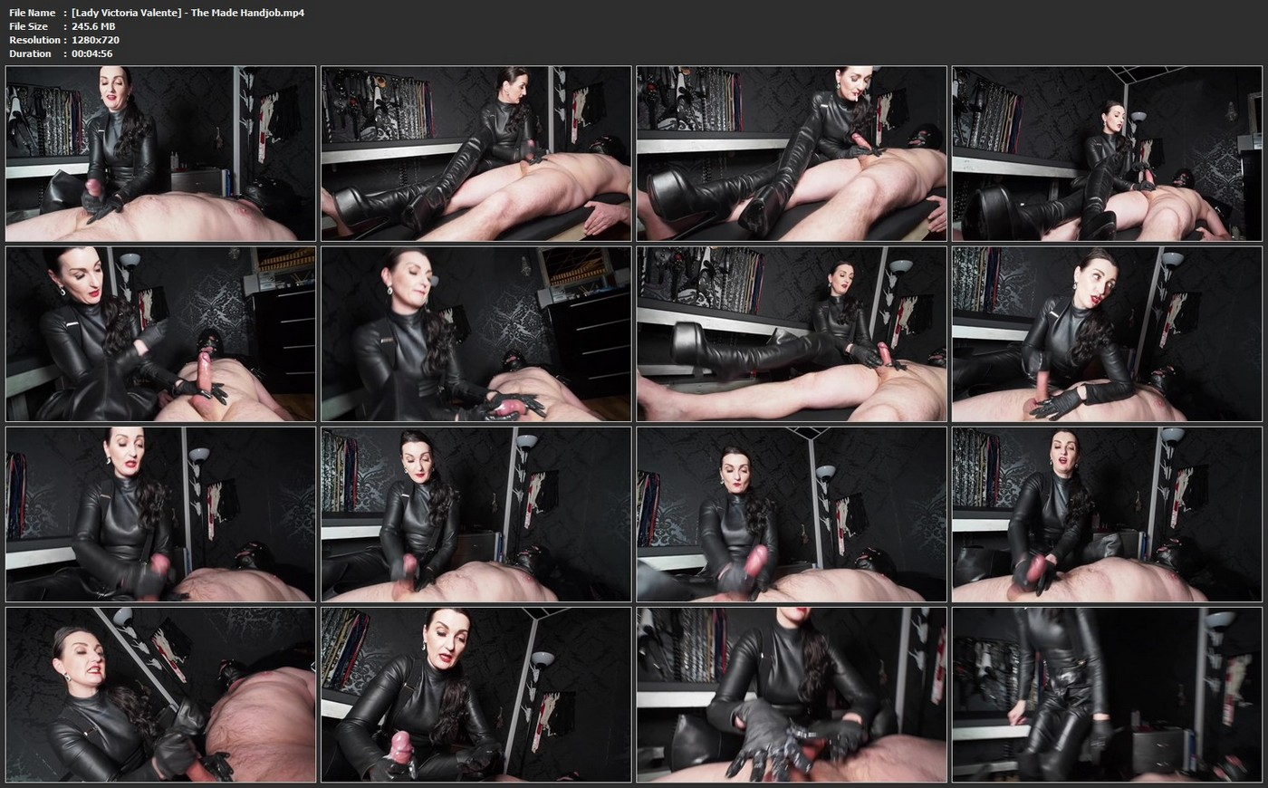 Download: Lady Victoria Valente - The Made Handjob!mp4