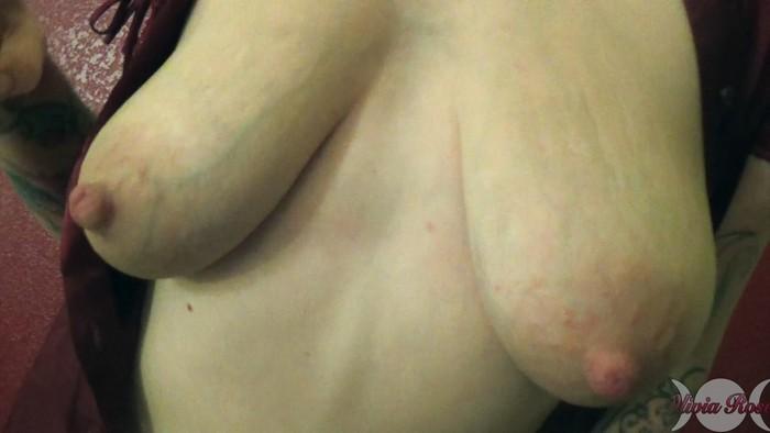 Olivia Rose - Satin Breast Worship