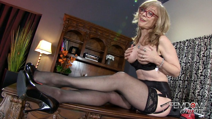 Nina Hartley - Job Interview JOI Test - [FemdomEmpire.com]