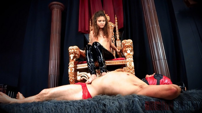 Queen Aryal - Foot Pet Flunky - [Domina Planet]