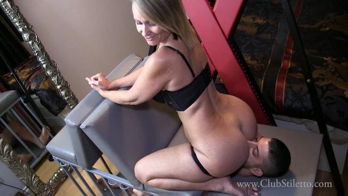 Mistress Kandy - Clean My Ass for Step-Daddy - [Club Stiletto]
