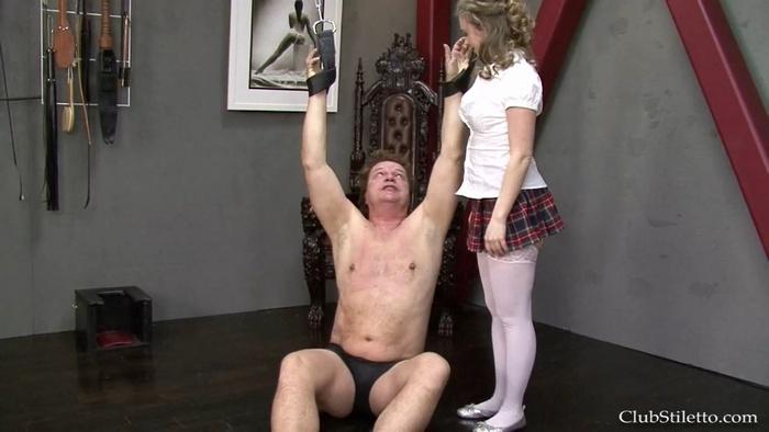Mistress T - School Girl Swing - [Club Stiletto]
